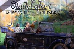 Dans la rue (hans pohl) Tags: espagne andalousie séville publicités advertising tiles carrelage art studebaker