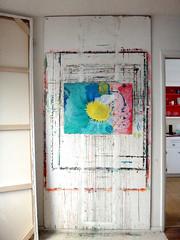 DSC0966899 (scott_waterman) Tags: ink watercolor gouache lotus lotusflower studio scottwaterman painting paper