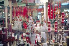 1962 Disneyland candle display (Tom Simpson) Tags: disney disneyland vintage vintagedisney vintagedisneyland 1962 1960s candle christmas windowdisplay