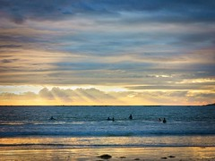 2015-10-25 18 13 41 (Pepe Fernández) Tags: atardecer puestadesol playa nigrán amadorra madorra paisaje mar