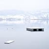 Der See lädt zum Bade. (zeh.hah.es.) Tags: seegräben pfäffikersee ktzh see lake badeinsel winter wasser water schnee snow nebel fog weiss white grau gray grey schweiz switzerland