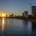 Sonnenuntergang / Sunset (Elektronix_) Tags: deutschland fluss frankfurt gewässer hessen landschaft main sonnenuntergang