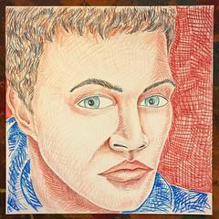 Portrait Study (Christian Montone) Tags: art montone christianmontone faces face portrait artwork drawing drawings pencil