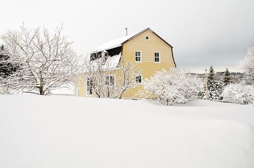 Maison canadienne à Rimouski.