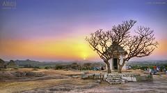 Sunset at Hemakoota, Hampi (joisbc) Tags: ananthajois joisbc abcj nikon d750 tokina 1224 hampi hemakoota sunset nature vijayanagara
