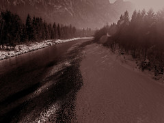 Winter river (mmpic_s) Tags: winter deutschland fluss river berge alpen