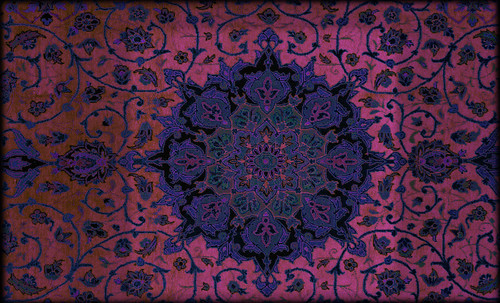 """Alfombras, espacios íntimos que simbolizan templos, árboles de la vida y el conocimiento, astros y paradisos. • <a style=""""font-size:0.8em;"""" href=""""http://www.flickr.com/photos/30735181@N00/32610071305/"""" target=""""_blank"""">View on Flickr</a>"""