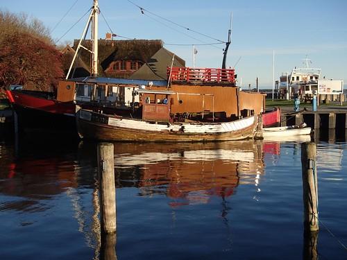 Im Hafen von Vitte (Hiddensee)
