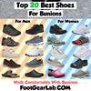 Top 20 Best Shoes for Bunions (FootGearLab) Tags: bestshoesforbunions shoesforbunions bunions best shoes