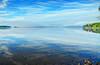 Järnsjön (rlubej) Tags: sweden lakes fog sky nohorizon