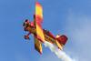 Gene Soucy (Norman Graf) Tags: show california cat plane airplane airport aircraft smoke airshow lancaster aerobatics grumman showcat genesoucy wjf agcat kwjf n7699 g164 nx7699 generalwilliamjfoxairfield 2015losangelescountyairshow