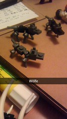 Wölfe (Shadow Viking) Tags: wolf lego beast wolves wölfe brickbuilt