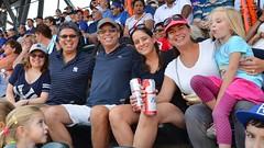 At The Game (Crop) (Joe Shlabotnik) Tags: baseball flushingmeadows queens peter crop sue madeleine yankees mets sarahp stevew 2015 juliak citifield afsdxvrzoomnikkor18105mmf3556ged september2015