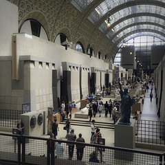 Orsay Museum: The Great Central Nave (Greatest Paka Photography) Tags: travel sculpture paris france art history museum architecture interior nave trainstation impressionist museedorsay seineriver garedorsay orsaymuseum victorlaloux greatcentralnave