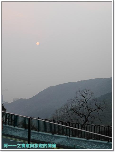 香港旅遊太平山夜景山頂纜車聖約翰座堂凌霄閣摩天台山頂廣場image058
