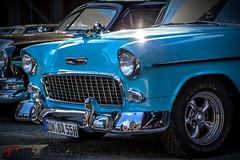 Chevrolet US Car Treffen 2015Bel Air 1955 (Patrick Heider) Tags: macro chevrolet car metal canon eos us is mark chrome 5d usm landschaftspark duisburg chrom nord treffen 2015 f28l ef100mm lapadu