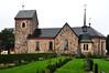 Vallentuna kyrka i regn (Bochum1805) Tags: church rain churchyard sten regn kyrka gravsten kyrkogård kyrktorn vallentunakyrka gravvård plåttak 21300000004888
