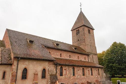 Église Saint-Ulrich (église d'Altenstadt) à Wissembourg