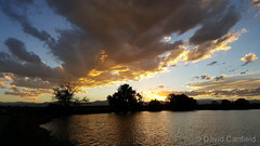 September 17, 2015 - A gorgeous sunset at McKay Lake in Broomfield. (David Canfield)