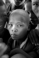 San boy (fins'n'feathers) Tags: africa boy education san mission botswana bushmen ghanzi