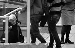 P1180247bw (mom_7) Tags: street sofia beggar panasonic bulgaria tz1