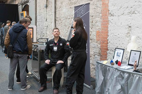GIGABOT 3D PRINTER AT THE WEB SUMMIT IN DUBLIN 2015 [Re:3D]-109882
