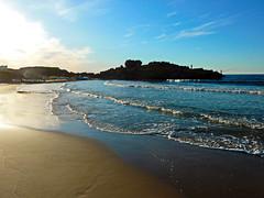 La plage du Rocher Noir (Naim H) Tags: lumix algeria playa panasonic plage algrie jijel tz7