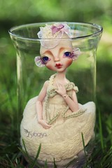Ninouchka my lovely fish (Tsubasa Make up doll) Tags: fish art doll makeup bjd kane tsubasa bloon nefer