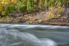 Dam Tailwater (AP Imagery) Tags: longexposure water dam kentucky ky cliffs lte roughriver