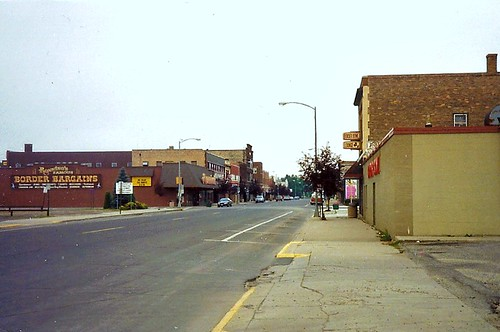 3rd Ave. ( Main St.) International Falls, Minnesota