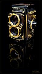 Rolleiflex 2,8F - Aurum (Imme Photography) Tags: rollei rolleiflex gold alt leder kamera braunschweig nostalgie aurum franke fotoapparat nostalgisch auflage selten wertvoll heidecke sammlerstck rolleiwerke zweiugige sonderedition