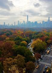 Manhattan Central Park in Autumn colorful fog (dannydalypix) Tags: newyorkcity centralpark manhattan gothamist gotham autumninnewyork centralparkinfall newyorkinfall