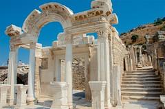 Temple of Hadrian (hecticskeptic) Tags: turkey ephesus libraryofcelsus templeofhadrian bouleuterion nymphaeumtraiani markamorgan