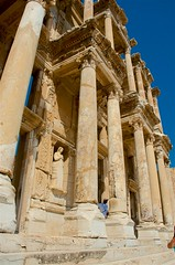 Library Front (hecticskeptic) Tags: turkey ephesus libraryofcelsus templeofhadrian bouleuterion nymphaeumtraiani markamorgan