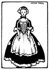 Het wilde Meisje j 30 ill  Anton Pieck  g (janwillemsen) Tags: bookillustration antonpieck 1930ies