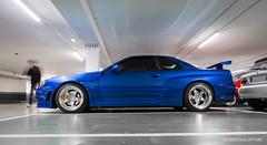 Nissan Skyline GT-R R34 (oncle_john) Tags: car japan skyline canon nissan lyon voiture 5d japon jdm gtr r34 mk3 mark3 wangan japanesecar worldcars japancar 5d3 wanganimport onclejohn momentsdecapture