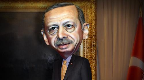 Recep Tayyip Erdogan - Caricature, From FlickrPhotos