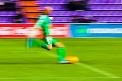 Goalkeeper Kick (Anxo Becerra) Tags: panning ftbol disparo portero barrido saque