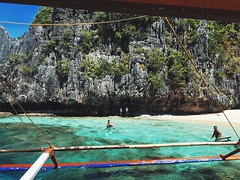 Star Beach (jpl.me) Tags: travel beach star philippines elnido palawan 2015 iphone6s