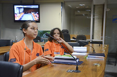 Fotos produzidas pelo Senado (Senado Federal) Tags: lana braslia brasil df bra adrielle jovemsenador2015 exemplardaconstituio