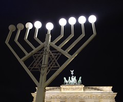 Berlin 12/13 (marktmcn) Tags: berlin night germany deutschland lights gate chanukah nighttime tor brandenburger brandenburg dsc hanukkah menorah hanukkiah rx100 anukah