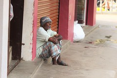 Brooding (bluelotus92) Tags: old people india man streets oldman brooding karnataka mysore mysuru devarajursmarket devarajaursmarket broodingoldman