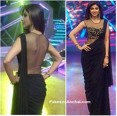 Shilpa Shetty in SonaakShi Raaj's Black Saree with Sheer Transparent Blouse (shaf_prince) Tags: shilpashetty bollywoodactress bollywoodsarees actressinsarees designerwear transparentblouse celebritydresses sleevelessblouses sareeblousedesigns indianfashiondesigners bollywooddesignerdresses actressinblackdresses stylishdesignsforblouse sheernetblouse
