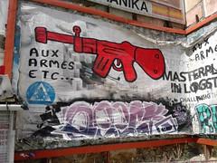 (Greece, Athens, Emmanouil Mpenaki St., Exarchia) (evlog) Tags: graffiti athens greece exarchia    mpenaki  emmanouil