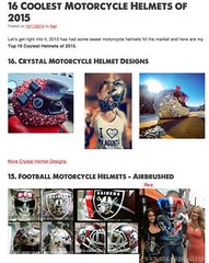16 Coolest Motorcycl (BikerKarl2013) Tags: store badass helmet motorcycles stuff motorcycle biker 16 coolest motorcycl