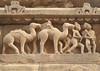 camel sculptures (Bhaskar Dutta) Tags: khajuraho temple sculpture stone outdoor day archaeology india