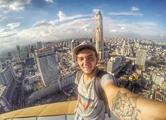 Bangkok (Alexandr Tikki) Tags: thailand bangkok travel world roof roofing wow amazing view city town great gopro