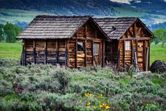 Sheds (JRJImages) Tags: wyoming buildings shed nature grandtetonrange mormonrow