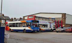 Final months of Herne Bay bus garage - Stagecoach East Kent 34656 (GX54DXG) - 15th December 2016