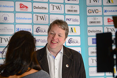 Nigel Short interviewed by Tania Sachdev (Johnchess) Tags: 29january2017 round6 tradewisegibraltarmasters